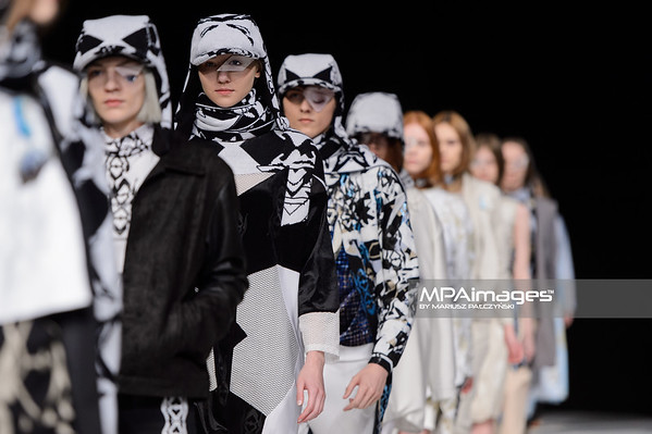 18.04.2015 - Lodz , Fashionphilosophy Fashion Week Poland 2015 , 12 edycja , Aleja Projektantow , Designers Avenue  N/Z Bola  Fot. Mariusz Palczynski / MPAimages.com