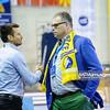 19.04.2015 - Kielce , Hala Legionow , pilka reczna , EHF Champions League , Vive Tauron Kielce (zolte) - HC Vadar (czarno-czerwone) N/Z Bertus Servas Fot. Karol Bartnik / MPAimages.com