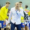 19.04.2015 - Kielce , Hala Legionow , pilka reczna , EHF Champions League , Vive Tauron Kielce (zolte) - HC Vadar (czarno-czerwone)  N/Z Talant Dujshebaev Fot. Karol Bartnik / MPAimages.com