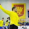 19.04.2015 - Kielce , Hala Legionow , pilka reczna , EHF Champions League , Vive Tauron Kielce (zolte) - HC Vadar (czarno-czerwone) N/Z Michal Jurecki Fot. Karol Bartnik / MPAimages.com