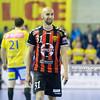 19.04.2015 - Kielce , Hala Legionow , pilka reczna , EHF Champions League , Vive Tauron Kielce (zolte) - HC Vadar (czarno-czerwone) N/Z Timur Dibirov Fot. Karol Bartnik / MPAimages.com