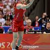28.05.2015 - Gdansk , Ergo Arena , siatkowka , Liga Swiatowa 2015 , Polska (biale) - Rosja (czerwone) , FIVB World League 2015 Poland - Russia  N/Z Maxim Mikhailov  Fot. Mariusz Palczynski / MPAimages.com