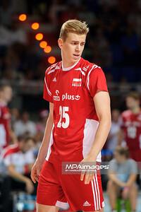 23.08.2015 - Torun , Torun Arena , siatkowka , XIII Memorial Huberta Wagnera, Polska (czerwone) - Iran (biale) N/Z Artur Szalpuk Fot. Karol Bartnik / MPAimages.com