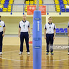 10.10.2015 - Katowice , Hala Mosir , siatkowka , II liga kobiet , Sokol 43 AZS AWF Katowice (czarne) - AZS Opole (zielone)  Fot. Karol Bartnik / MPAimages.com