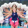 15.10.2015 - Zawiercie , Hala Osir , siatkowka , Superpuchar Polski , Chemik Police (biale) - Atom Trefl Sopot (niebieskie)  N/Z ZAKSA Cheerleaders Fot. Karol Bartnik / MPAimages.com