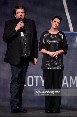 12.11.2015 - Lodz , Fashionphilosophy Fashion Week Poland 2015 , 13 edycja , Gala Otwarcia   N/Z Jerzy Antkowiak , Jacek Klak , Irmina Kubiak  Fot. Mariusz Palczynski / MPAimages.com