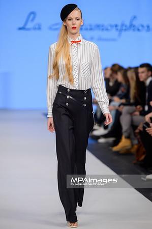 12.11.2015 - Lodz , Fashionphilosophy Fashion Week Poland 2015 , 13 edycja , Aleja Projektantow , Designers Avenue  N/Z La Metamorphose  Fot. Mariusz Palczynski / MPAimages.com