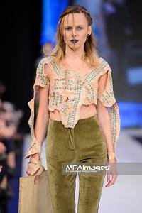 13.11.2015 - Lodz , Fashionphilosophy Fashion Week Poland 2015 , 13 edycja , Aleja Projektantow , Designers Avenue  N/Z Odio i Jakub Pieczarkowski  Fot. Mariusz Palczynski / MPAimages.com
