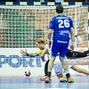 15.01.2015 - Katowice , Spodek , pilka reczna , EHF Euro 2016 , Islandia (niebieskie) - Norwegia (biale)  N/Z Bjorgvin Gustavsson , Bjarki Gunnarsson Fot. Karol Bartnik / MPAimages.com