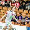 15.01.2015 - Katowice , Spodek , pilka reczna , EHF Euro 2016 , Islandia (niebieskie) - Norwegia (biale)  N/Z Kristian Bjornsen Fot. Karol Bartnik / MPAimages.com