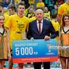 07.02.2016 - Wroclaw , Hala Orbita , siatkowka , Puchar Polski 2016 , Dekoracja  N/Z Mariusz Wlazly  Fot. Mariusz Palczynski / MPAimages.com