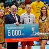 07.02.2016 - Wroclaw , Hala Orbita , siatkowka , Puchar Polski 2016 , Dekoracja  N/Z Pawel Zatorski  Fot. Mariusz Palczynski / MPAimages.com