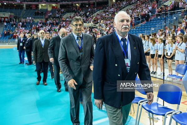 17.05.2016 - Krakow , Tauron Krakow Arena , siatkowka , XIV Memorial Huberta Jerzego Wagnera 2016 , Ceremonia otwarcia   N/Z  Fot. Karol Bartnik / MPAimages.com