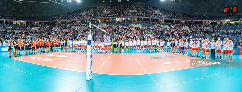 17.05.2016 - Krakow , Tauron Krakow Arena , siatkowka , XIV Memorial Huberta Jerzego Wagnera 2016 , Ceremonia otwarcia   N/Z Ceremonia otwarcia  Fot. Karol Bartnik / MPAimages.com