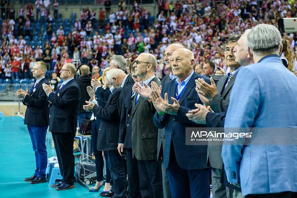 17.05.2016 - Krakow , Tauron Krakow Arena , siatkowka , XIV Memorial Huberta Jerzego Wagnera 2016 , Ceremonia otwarcia   N/Z Vipy  Fot. Karol Bartnik / MPAimages.com