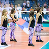 18.05.2016 - Krakow , Tauron Krakow Arena , siatkowka , XIV Memorial Huberta Jerzego Wagnera 2016 , Bulgaria (biale) - Serbia (niebieskie) , Bulgaria (white) - Serbia (blue)  N/Z Hymn Serbii  Fot. Karol Bartnik / MPAimages.com
