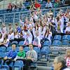 18.05.2016 - Krakow , Tauron Krakow Arena , siatkowka , XIV Memorial Huberta Jerzego Wagnera 2016 , Bulgaria (biale) - Serbia (niebieskie) , Bulgaria (white) - Serbia (blue)  N/Z Kibice  Fot. Karol Bartnik / MPAimages.com