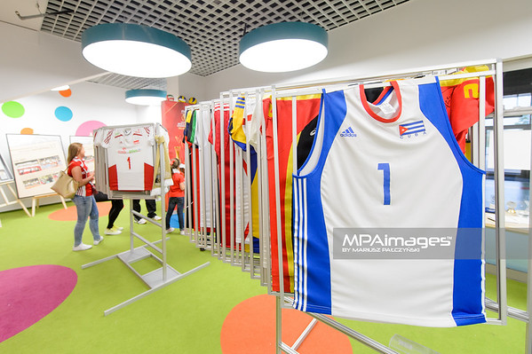 18.05.2016 - Krakow , Tauron Krakow Arena , siatkowka , XIV Memorial Huberta Jerzego Wagnera 2016   N/Z Muzeum Grzegorz Szewczyk  Fot. Mariusz Palczynski / MPAimages.com