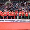 19.05.2016 - Krakow , Tauron Krakow Arena , siatkowka , XIV Memorial Huberta Jerzego Wagnera 2016 , Dekoracja  N/Z Reprezentacja Bulgarii  Fot. Karol Bartnik / MPAimages.com
