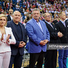 19.05.2016 - Krakow , Tauron Krakow Arena , siatkowka , XIV Memorial Huberta Jerzego Wagnera 2016 , Dekoracja  N/Z VIPy  Fot. Karol Bartnik / MPAimages.com