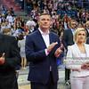 19.05.2016 - Krakow , Tauron Krakow Arena , siatkowka , XIV Memorial Huberta Jerzego Wagnera 2016 , Dekoracja  N/Z Pawel Papke  Fot. Karol Bartnik / MPAimages.com