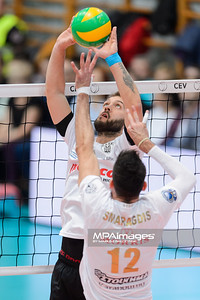 2017 CEV Volleyball Champions League: PGE Skra Belchatow - PAOK Thessaloniki