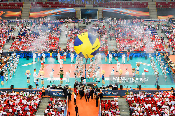 Lotto Eurovolley Poland 2017: Opening Ceremony