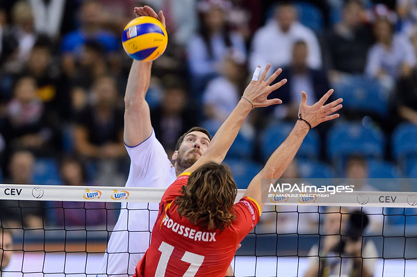 Lotto Eurovolley Poland 2017: Russia - Belgium