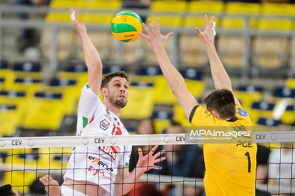 2018 CEV Volleyball Champions League: PGE Skra Belchatow - Cucine Lube Civitanova