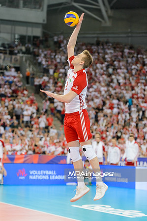 Poland - France   FIVB Volleyball Nations League 2018