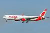 Air Canada Rouge, C-FMWU, Boeing 767-333(ER)(WL), msn 25585, Photo by John A Miller, TPA, Image P049LAJM