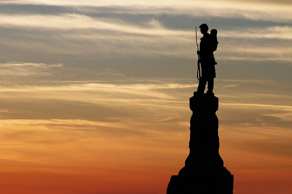 Pennsylvania 124th Infantry Memorial -- Antietam National Battlefield