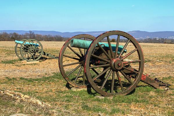 Cannons -- Antietam National Battlefield