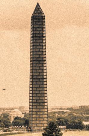 Sepia Monument