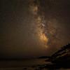 MILKY WAY AT SAND BEACH, ACADIA NP, MAINE