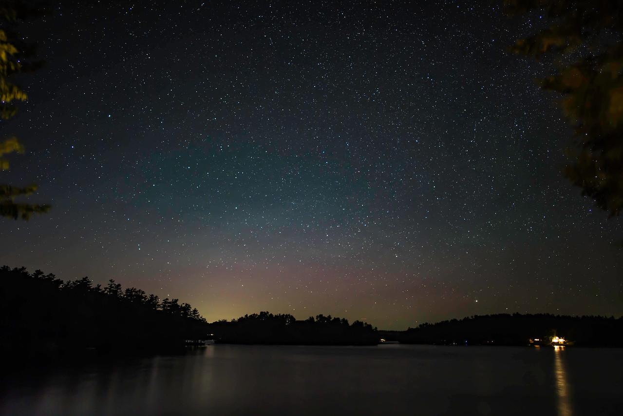 STARRY NIGHT OVER DAMARISCOTTA LAKE