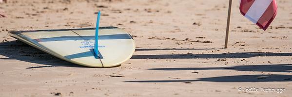 Longboard à Biarritz