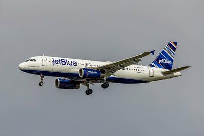 JetBlue, N537JT, Airbus A320-232, msn 1785, Photo by John A Miller, TPA, Image T057LAJM