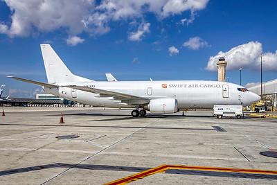 Swift Air Cargo, N811TJ, Boeing 737-306(BDSF), msn 23538, Photo by John A Miller, MIA, Image K144RGJM