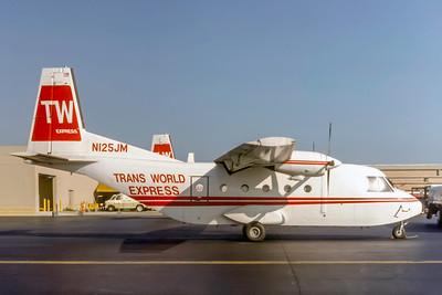 Trans World Express, N125JM, Casa 212-100, msn 154, Photo by Keith Armes, Image AF005RGKA