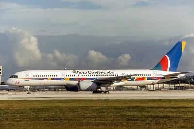 Aero Continente, G-OOOD, Boeing 757-28A, msn 24235, Photo by J Fernandez, Image N060LGJF