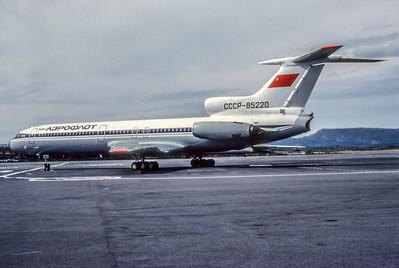 Aeroflot, CCCP-85220, Tupolev TU-154B, msn 77A220, Photo by Photo Enrichments Collection, Image HH002LGJC