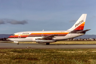 AirCal, N465AC, Boeing 737-293, msn 19713, Photo by Photo Enrichments Collection, Image J192LGJC