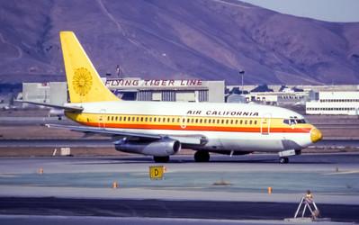 Air California, N646GB, Boeing 737-293, msn 13309, Photo by Andrew Abshier, Image J006RGAA