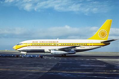 Air California, N469AC, Boeing 737-293, msn 20335, Photo by Dean Slaybaugh, Image J095LGDS
