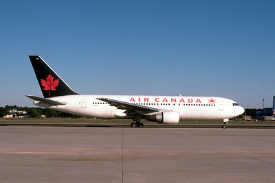 Air Canada, C-GAUU, Boeing 767-233, msn 22523, Photo by John A. Miller, TPA, Image P032RGJM