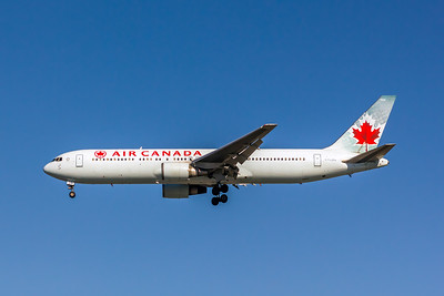 Air Canada, C-FCAG, Boeing 767-375(ER), msn 24085, Photo by John A Miller, LAX, Image P053LAJM