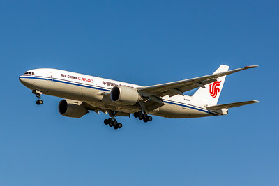 Air China Cargo, B-2091, Boeing 777-FFT, msn 44682, Photo by John A Miller, LAX, Image PP037LAJM