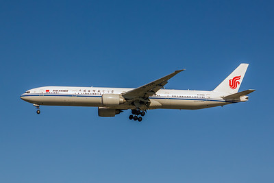 Air China, B-2090, Boeing 777-39L(ER), msn 38669, Photo by John A Miller, LAX, Image PP036LAJM