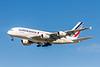 Air France Airlines, F-HPJH, Airbus A380-861, msn 099, Photo by John A Miller, LAX, Image XA010LAJM